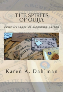 the spirits of ouija four decades of communication, karen a. dahlman, recommended reading, big seance