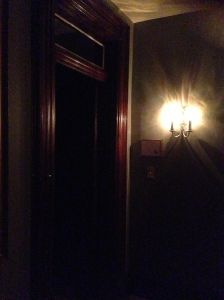 A photo I took from inside the Lemp Mansion in St. Louis, Missouri.