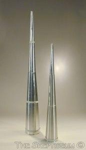 Modern spirit trumpets, courtesy of www.skeptiseum.org.