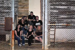 Our group photo from the investigation of Fort Chaffee Prison.