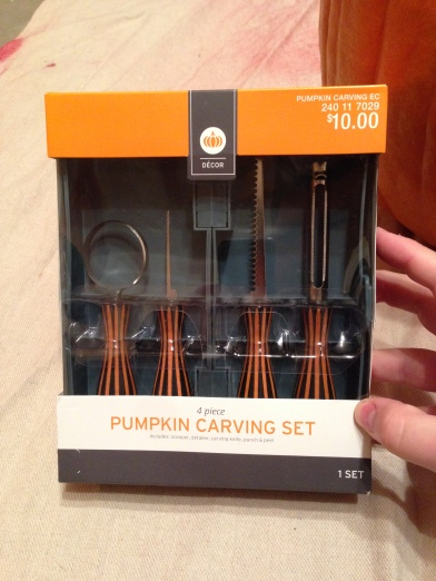 "We have a plethora of various pumpkin carving tools from mostly cheap sets by ""Pumpkin Masters"". We purchased a rather expensive set online last year. I found that this $10 set from Target is just as good or better than any of them. I recommend it!"