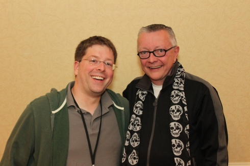 Me with Chip Coffey