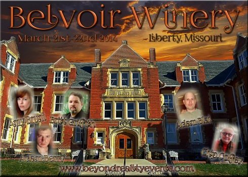 TAPS and Chip Coffey at Belvoir Winery in March!
