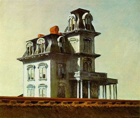 """House by the Railroad"" by Edward Hopper"