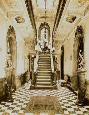 Interior of the Victoria Mansion, Portland, Maine