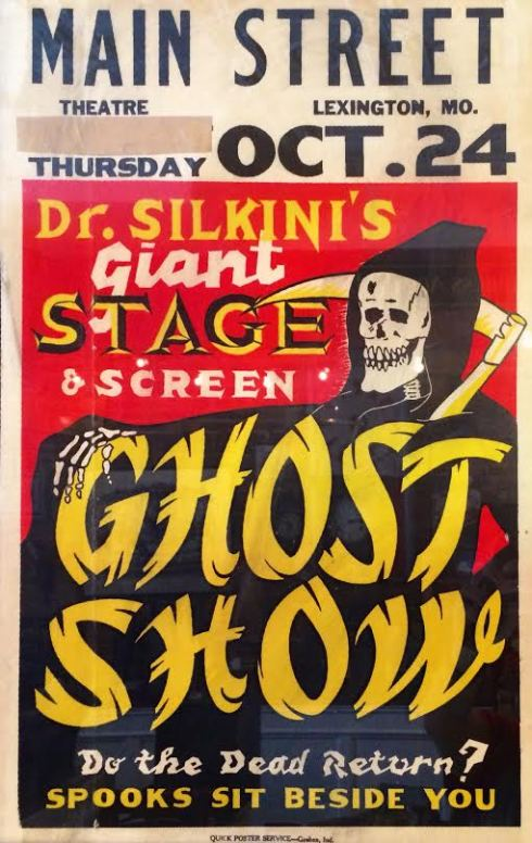 Dr. Silkini's Ghost Show: Do the Dead Return? Spooks Sit Beside You!