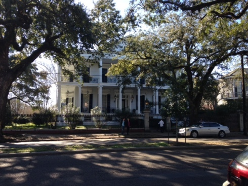 Buckner Mansion, used as the exterior of Miss Robichaux's Academy in American Horror Story: Coven. Photo courtesy of Victoria Cosner Love