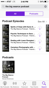 The Big Séance Podcast in the iOS Podcast App