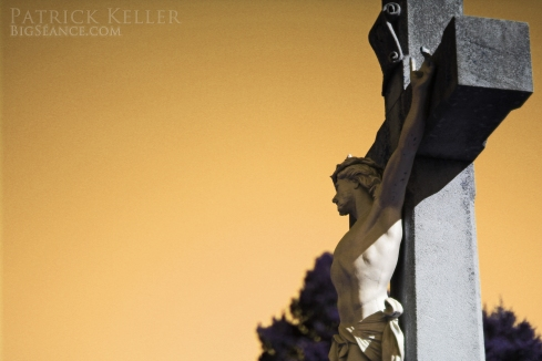 cemeteries, cemetery photography, jesus, crucifixion, cross