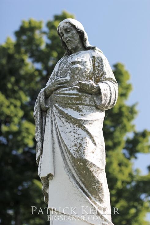 statue, cemeteries, cemetery photography, st charles, missouri