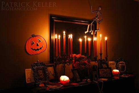 Halloween Altar 2014, Big Seance