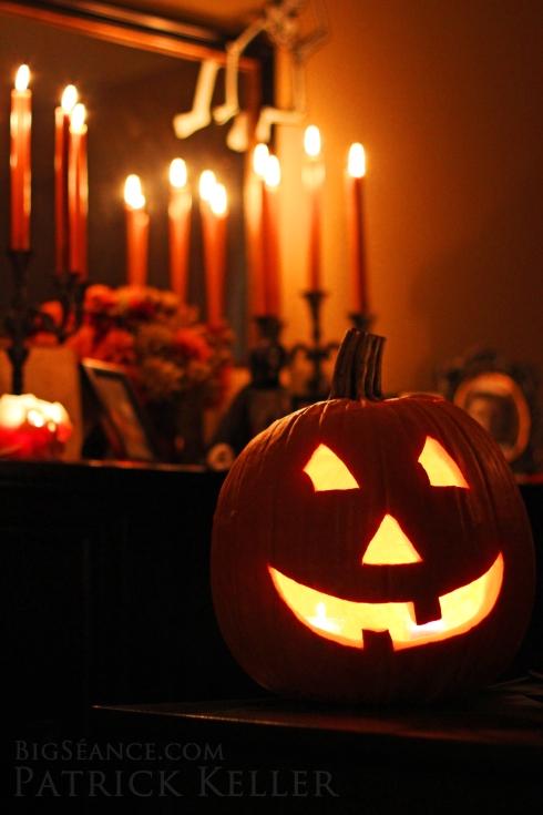 Halloween Jack-O-Lantern for 2014, Big Seance