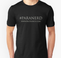 Paranerd Shirt (White Text) - The Big Séance Podcast: My Paranormal World