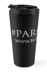 Paranerd Travel Mug Black - The Big Seance Podcast: My Paranormal World