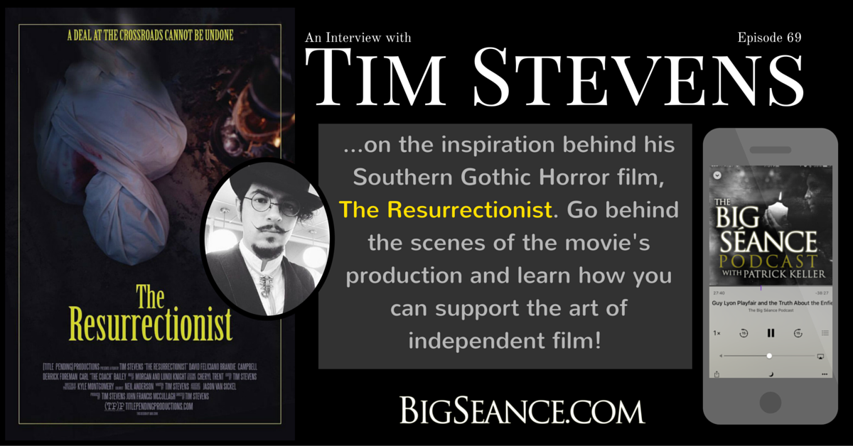 Interview with Film Writer and Director, Tim Stevens, about his film,