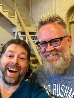 Patrick Keller with Troy Taylor at the American Haunting's Fall Festival - The Big Seance Podcast - BigSeance.com